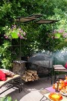 мангал для летнего кафе