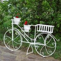 рекламная цветочница велосипед