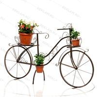 цветочная подставка велосипед