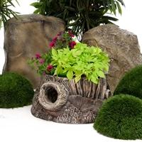 цветочное кашпо в эко-стиле