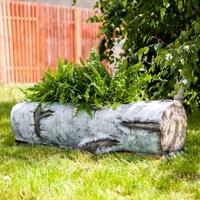 кашпо спил дерева