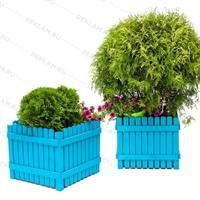 кадки для растений в яркой покраске
