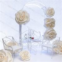 комплект кованой мебели для свадебной фотозоны