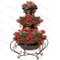 Вазоны для цветов Античная роскошь - фото 13593