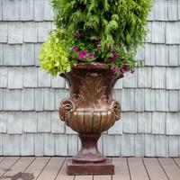 бронзовый вазон в античном стиле
