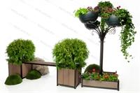 комплект вертикального озеленения для парков и скверов