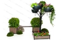 вертикальное озеленение парков и скверов