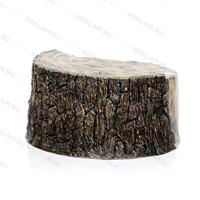крышка люка в виде спила дерева