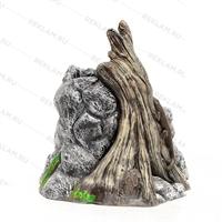 цветочное кашпо под камень