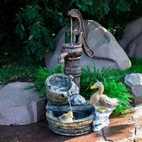 декоративный мобильный фонтан