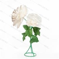 комплект декоративных роз