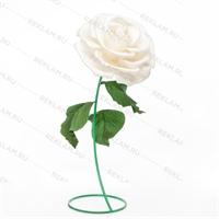 объемная роза из изолона