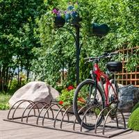 кованая стоянка для велосипеда