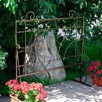 купить пластиковый декоративный заборчик для сада