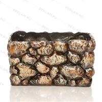 декоративное кашпо под камень