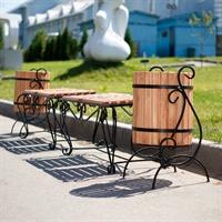 уличная кованая мебель