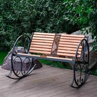 кресло-качалка уличная