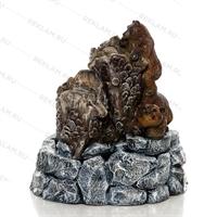 фонтан декоративный с медведями