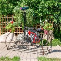 кованая парковка для велосипедов