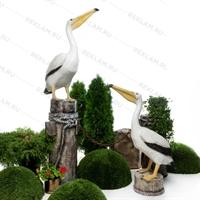 комплект рекламных фигур морские птицы