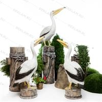комплект фигур пеликаны на кнехте