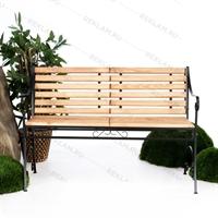 кованая скамейка для парков и скверов