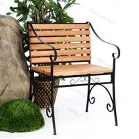 кованое парковое кресло