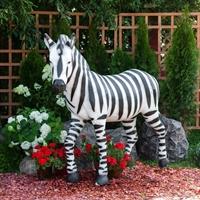 ростовая фигура зебры