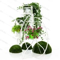 цветочное вертикальное озеленение