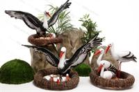 декоративные фигурки для сада купить недорого аисты
