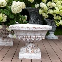 купить цветочный вазон из бетона