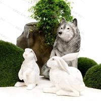 объемная фигура зайца