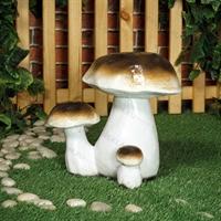 садовые фигуры грибов