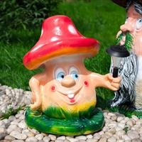 ландшафтный светильник гриб