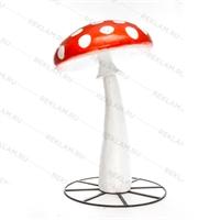 объемная фигура большой гриб