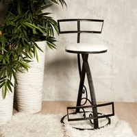 кованый интерьерный стул
