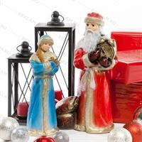 новогоднее оформление витрин магазинов