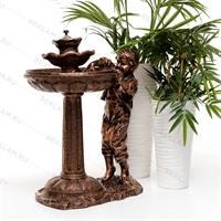 фонтан декоративный из полистоуна