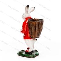 объемная фигура заяц-кашпо