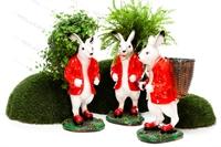 рекламная фигура заяц кашпо