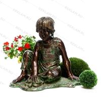 Объемная фигура Мальчик с черепахой - фото 15668