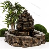 фонтан декоративный из полистоуна купить