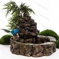 оформление декоративного фонтана