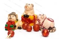 Коллекция объемных фигур Свинки-копилки - фото 15757