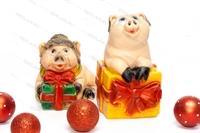 Коллекция объемных фигур Свинки-копилки - фото 15758