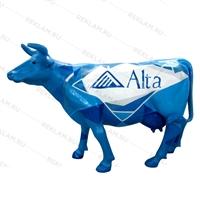 объемная фигура коровы