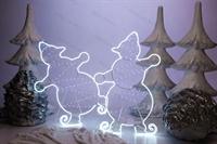 световой снеговик купить