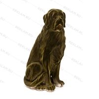 фигура собаки из пластика