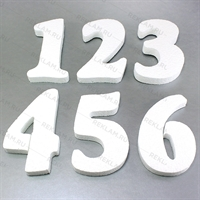 Цифры из пенопласта - фото 16085