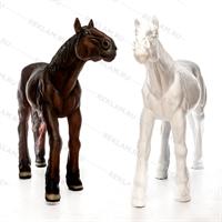 купить садовая фигура лошадь большая
